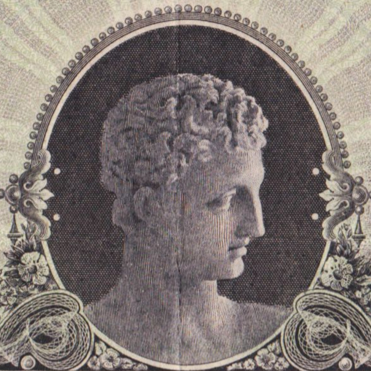 Interestingly, Waterlow and the American Bank Note Company used the same portrait for various issues of the National Bank of Greece in the late 19th/early 20th century.