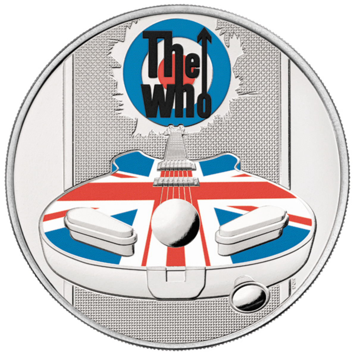 With elements of The Pinball Wizard, union jack backed logos and Pete Townshend's speaker-smashing Rickenbacker guitar, this design by artist Henry Gray covers many of our remembered symbols of a band that changed everything about rock music.