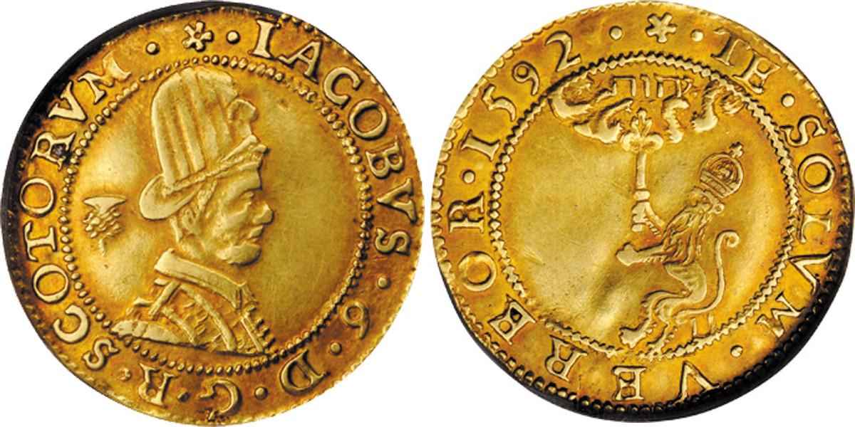 "A ""Hat Piece"" of James VI"