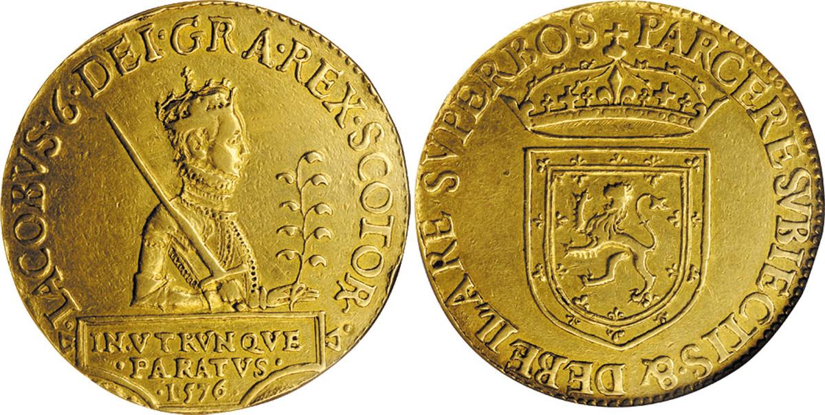 20-pound piece of James VI.