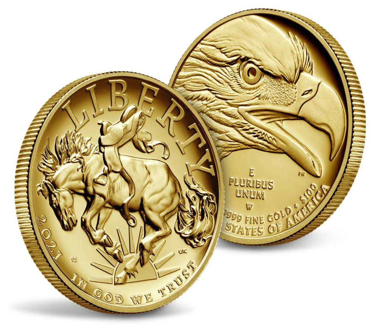 2021 American Liberty high-relief gold 1-ounce proof. (Image courtesy United States Mint.)