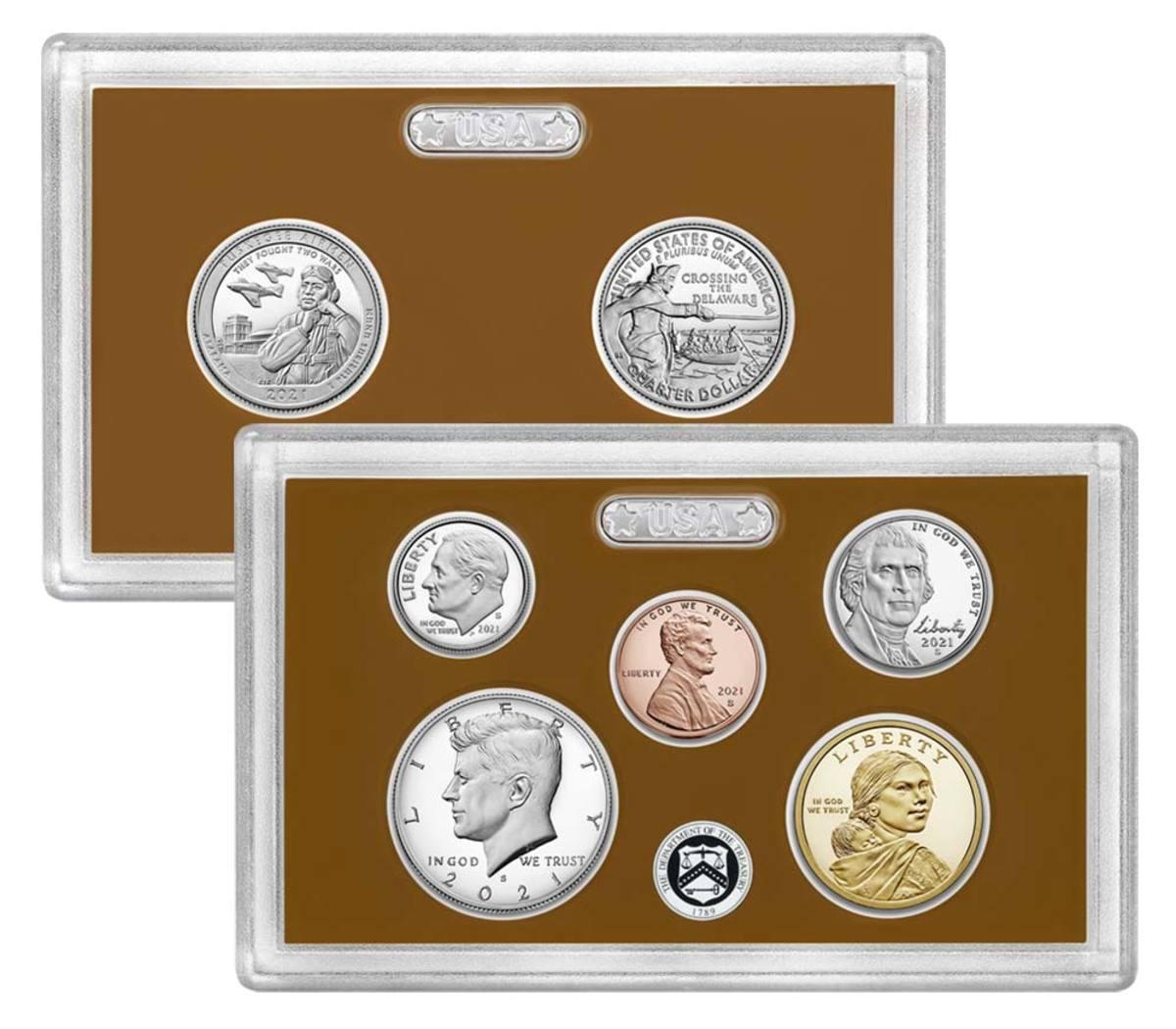 2021 proof set. (Image courtesy United States Mint.)